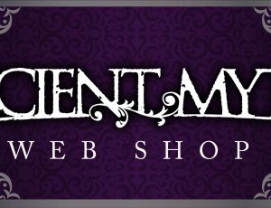ANCIENT MYTH WEB SHOP open!